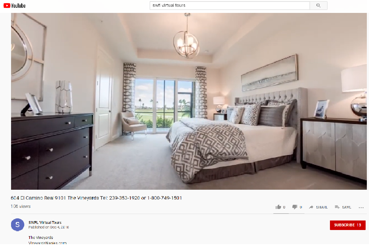 Youtube Virtual Tour